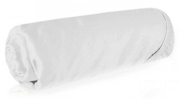 Prześcieradło NOVA3 180X200 z gumką Białe Eurofirany