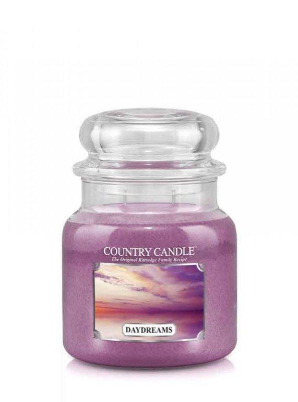 Country Candle - Daydreams - Średni słoik (453g) 2 knoty