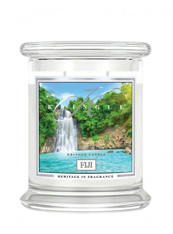 Kringle Candle - Fiji - średni, klasyczny słoik (411g) z 2 knotami