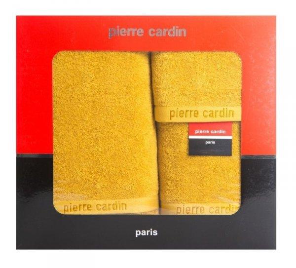Komplet Ręczników Pierre Cardin EVI Musztardowy Eurofirany