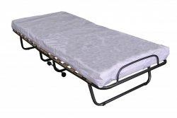 Szpitalne łóżko składane dostawka TOKIO z zagłówkiem+pokrowiec  medyczny
