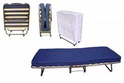 Do wynajęcia Komfortowe łóżko hotelowe 190 x 80 cm COMO na kółkach