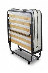 Łóżko składane, dostawka hotelowa  Luxor 90 x 200 cm materac 10 cm - POKROWIEC GRATIS