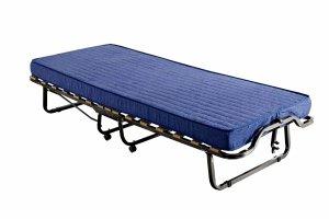 Łóżko składane, dostawka hotelowa LUXOR 200 x 90 materac 10cm.