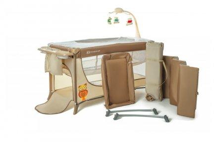 Łóżko turystyczne dla dzieci JOY z akcesoriami