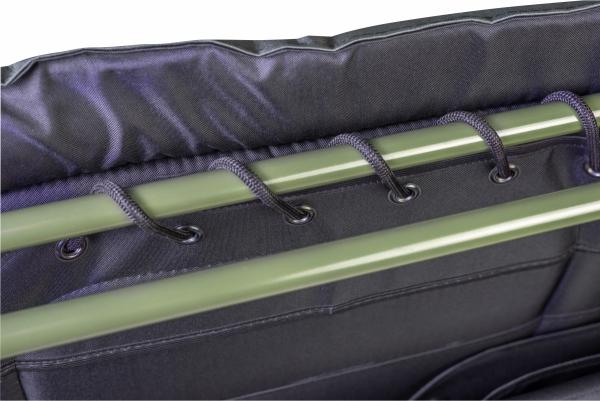 Łóżko polowe wojskowe WP5-2 zielone, super mocne