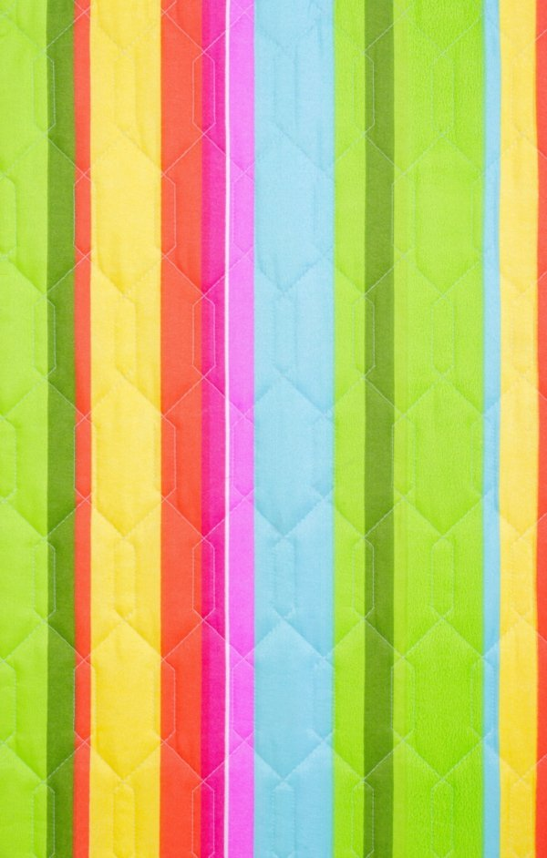 Tkanina leżaka kolorowe pasy