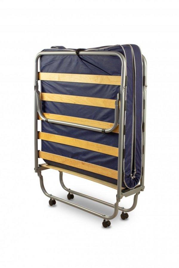 Łóżko składane, dostawka hotelowa KUBA 190 x 80cm, materac 7cm