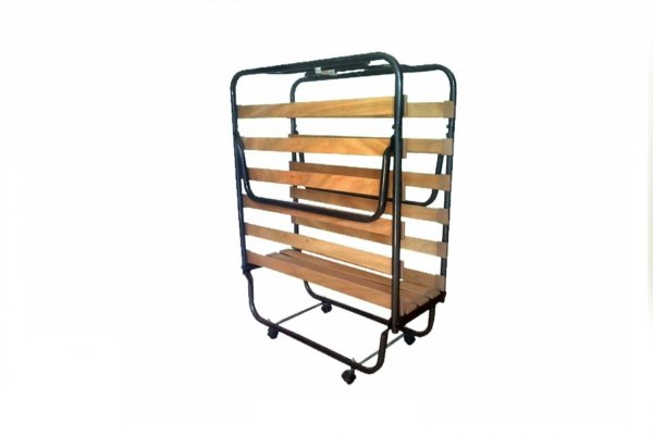 Łóżko składane, dostawka hotelowa COMO 190 x 80 cm z pokrowcem