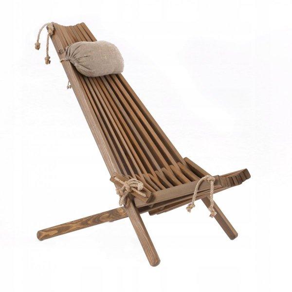fotel EcoChair z poduszką - zagłówkiem