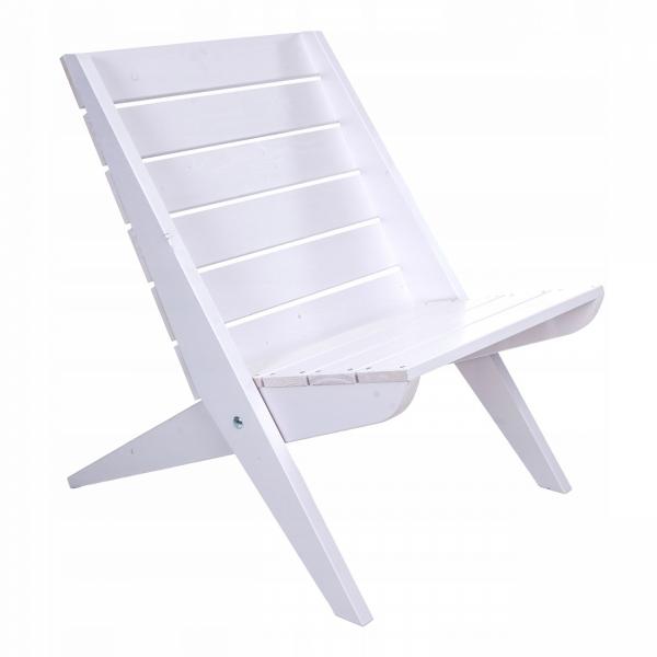 Fotel drewniany Ecofurn Granny sosna biała