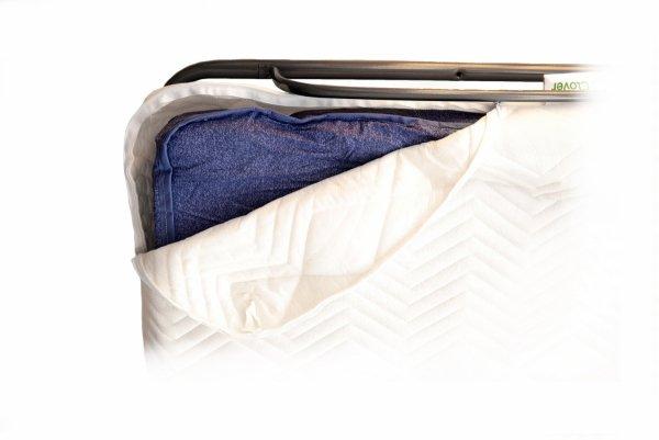 Materac łóżka składanego LUXOR z ochraniaczem