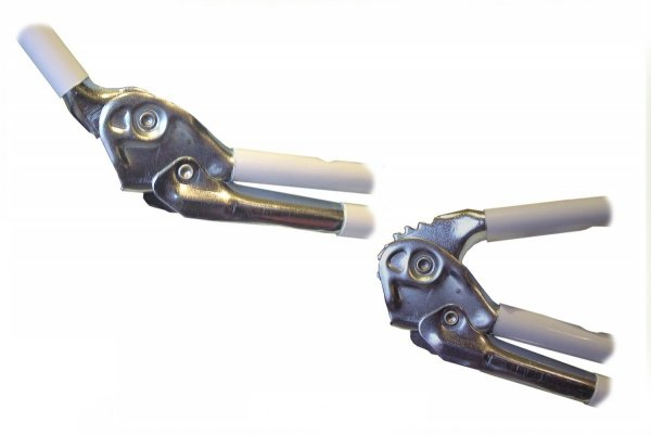 Łóżko polowe IBIZA LUX  z regulowaną wysokością zagłówka i materacem 3 cm