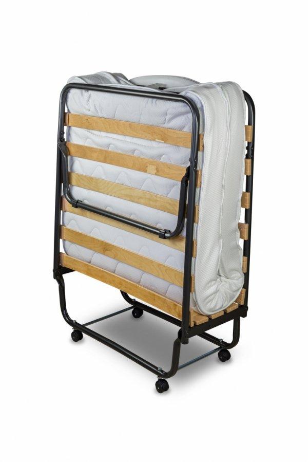 łóżko składane como premium złożone