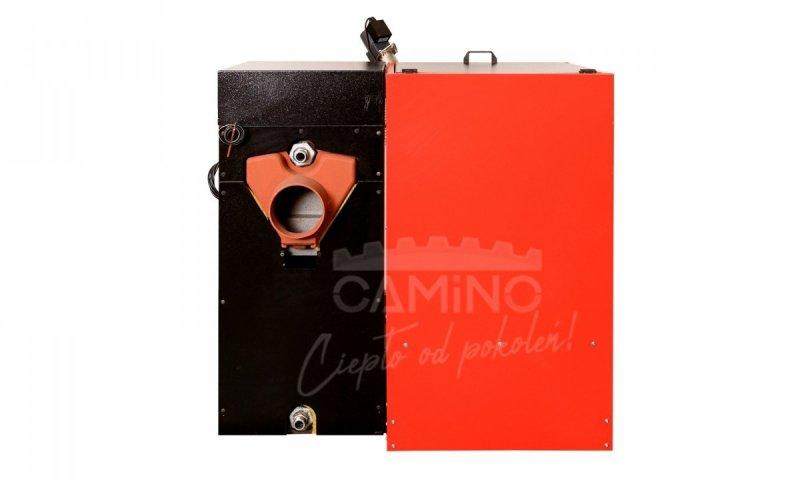 Camino 4 żeliwny kocioł na pellet z podajnikiem o mocy 20 KW EcoMax 860 simTOUCH ST4 Seperate