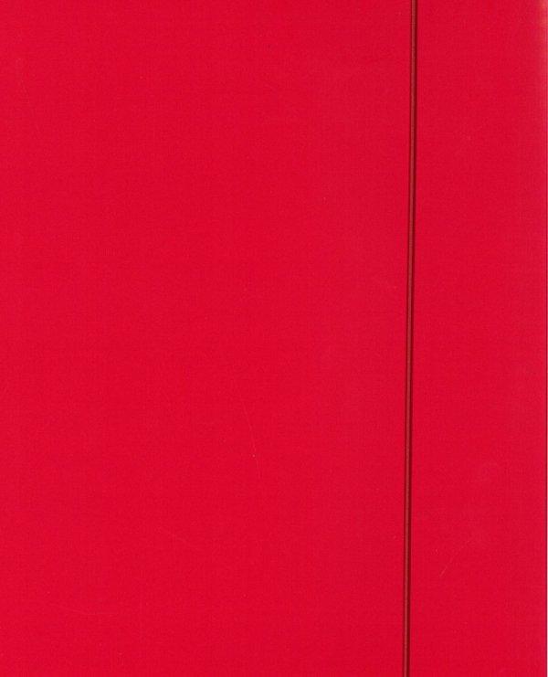 Teczka A4 z gumką - czerwona