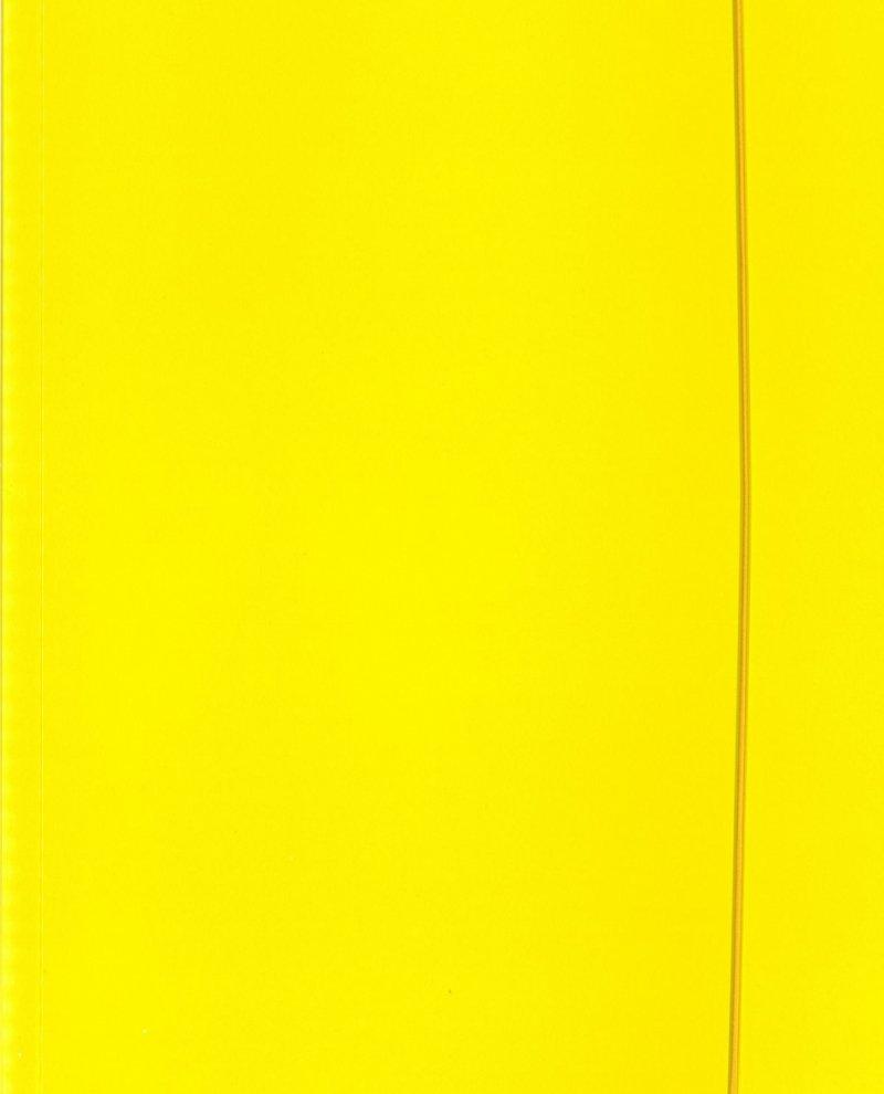 Teczka A4 z gumką - żółta FLUO