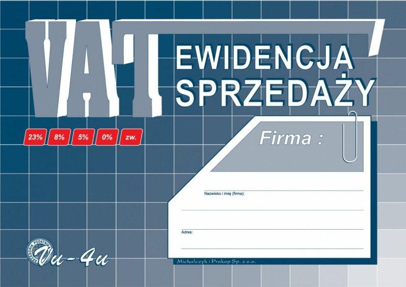 Ewidencja sprzedaży VAT VU-4U