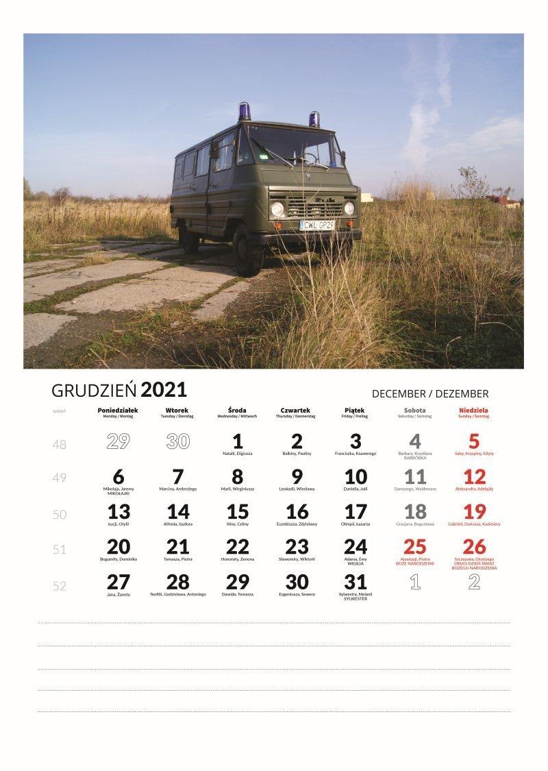 Kalendarz Żuk