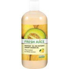 Fresh Juice Kremowy Żel Pod Prysznic Thai Melon & White Lemon 500ml (Data ważności 08/19)