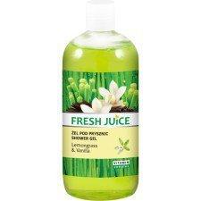Fresh Juice Żel Pod Prysznic Lemongrass & Vanilla 500ml (Data ważności 17/01/2019)
