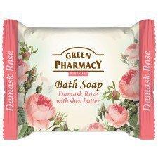 GREEN PHARMACY Mydło Toaletowe Róża Damasceńska I Masło Shea 100g (Data ważności 05/19)