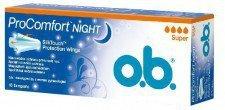 OB Pro Comfort Night Super Tampony 16szt.