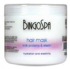 BINGOSPA Maska Do Włosów Proteiny Mleczne I Elastyna 500g
