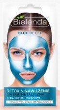 Bielenda Blue Detox Detoksykująca Maska Metaliczna Do Cery Suchej i Wrażliwej 8g