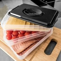 Pojemnik na żywność ORGANIZER na wędliny sery 3 -poziomy
