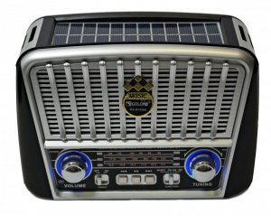 RADIO SOLARNE GŁOŚNIK PENDRIVE USB MP3 SD LATARKA
