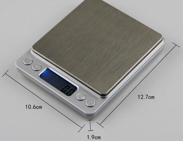 WAGA ELEKTRONICZNA CYFROWA KUCHENNA 0.1- 2 kg