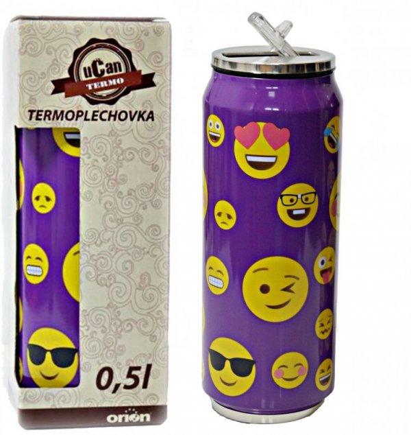 Kubek termiczny PUSZKA SMILE foletowy 0,5L