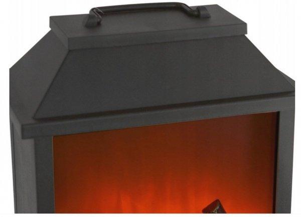 Kominek Latarnia Lampion LED 30cm - IMITACJA OGNIA