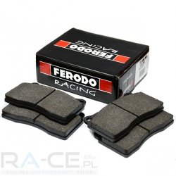 Klocki hamulcowe Ferodo DS2500, Honda Civic TypeR (EP3), oś tylna.