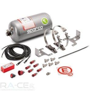 System gaśniczy Sparco aluminiowy, elektryczny 4L