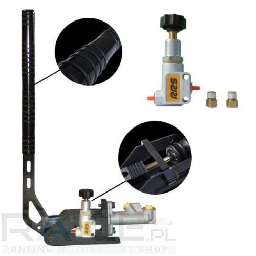 RRS, zestaw hydrauliczny ręczny pionowy/poziomy + pompa + korektor
