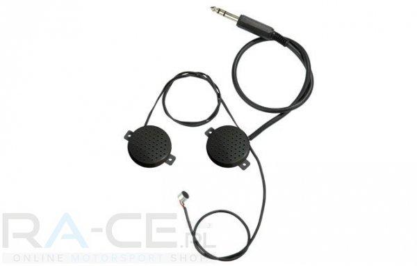 OMP, słuchawki z mikrofonem do kasku zamkniętego. Kompatybilne z JA/848