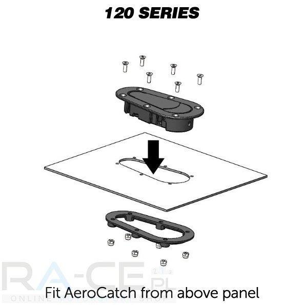 Zapinki AeroCatch Xtreme 120-4000