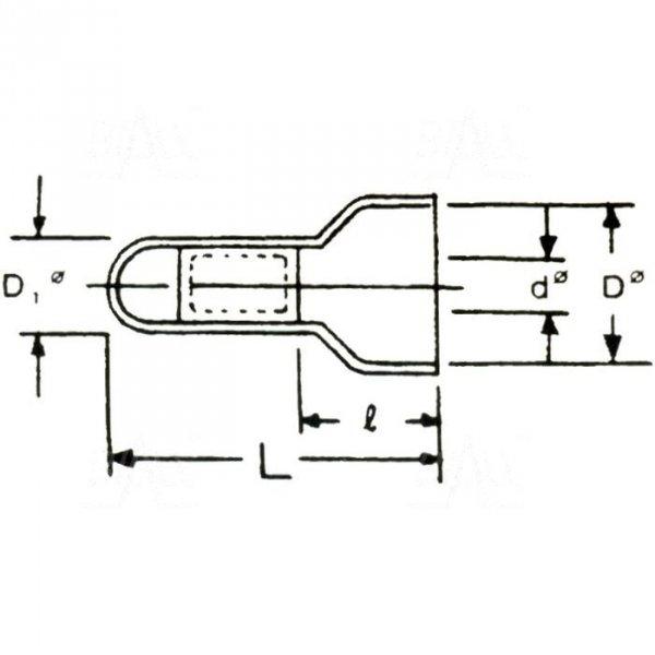 ZKZ-2 Złączka kablowa zaciskowa 2mm2 100szt