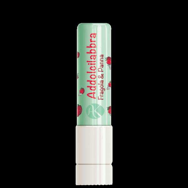 Pomadka nawilżająca do ust o smaku Truskawkowym 5ml - Alkemilla