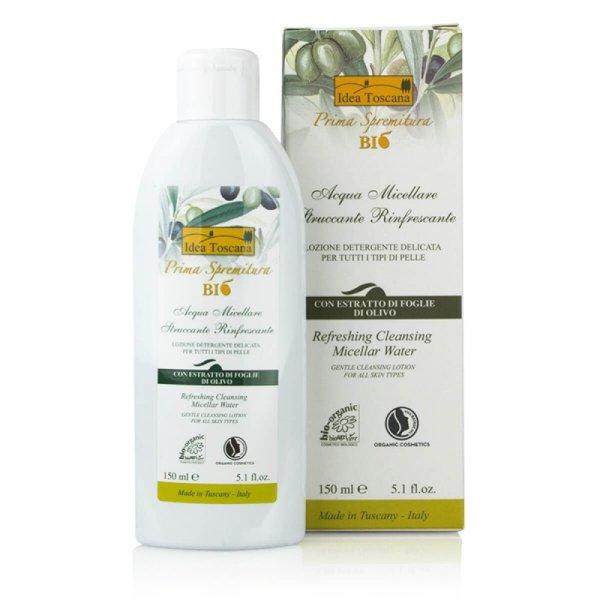 Odświeżająco oczyszczający płyn micelarny 150ml - Idea Toscana