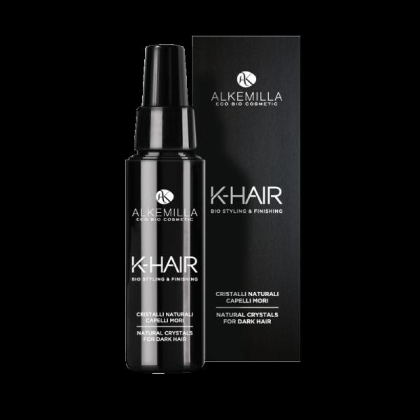 Naturalne kryształki do włosów ciemnych w płynie K-HAIR - Alkemilla