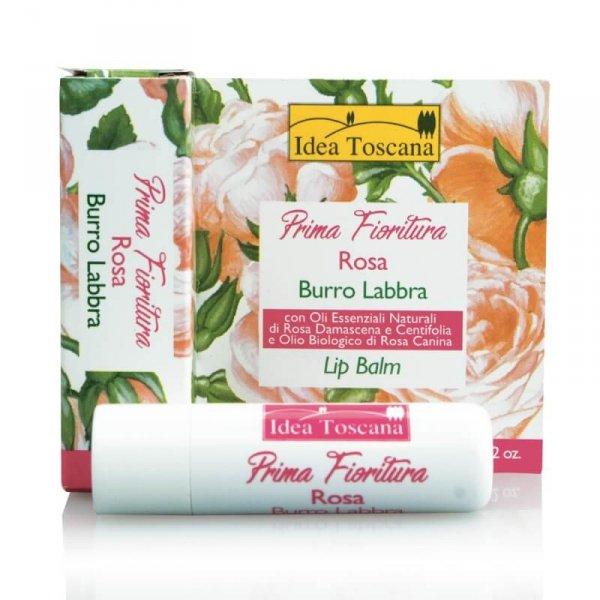 Ochronna pomadka do ust z różą 5,5ml - Idea Toscana