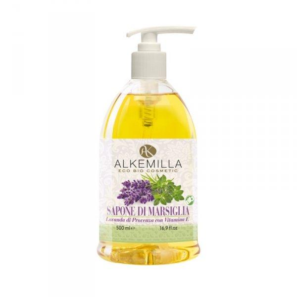 Lawendowe mydło w płynie do rąk, ciała i twarzy - Alkemilla