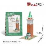 Cubicfun Puzzle 3D Domki świata - Włochy St. Marks Campani