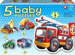 Educa Puzzle Baby 19 elementów Pojazdy