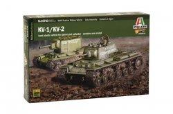 Italeri KV1/KV2