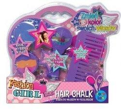 Stnux Kreda do włosów - uchwyt i grzebień fioletowy