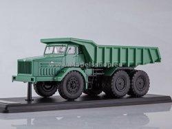 SSM Soviet Quarry Dump Truck MAZ-530 (40 tons) (green)